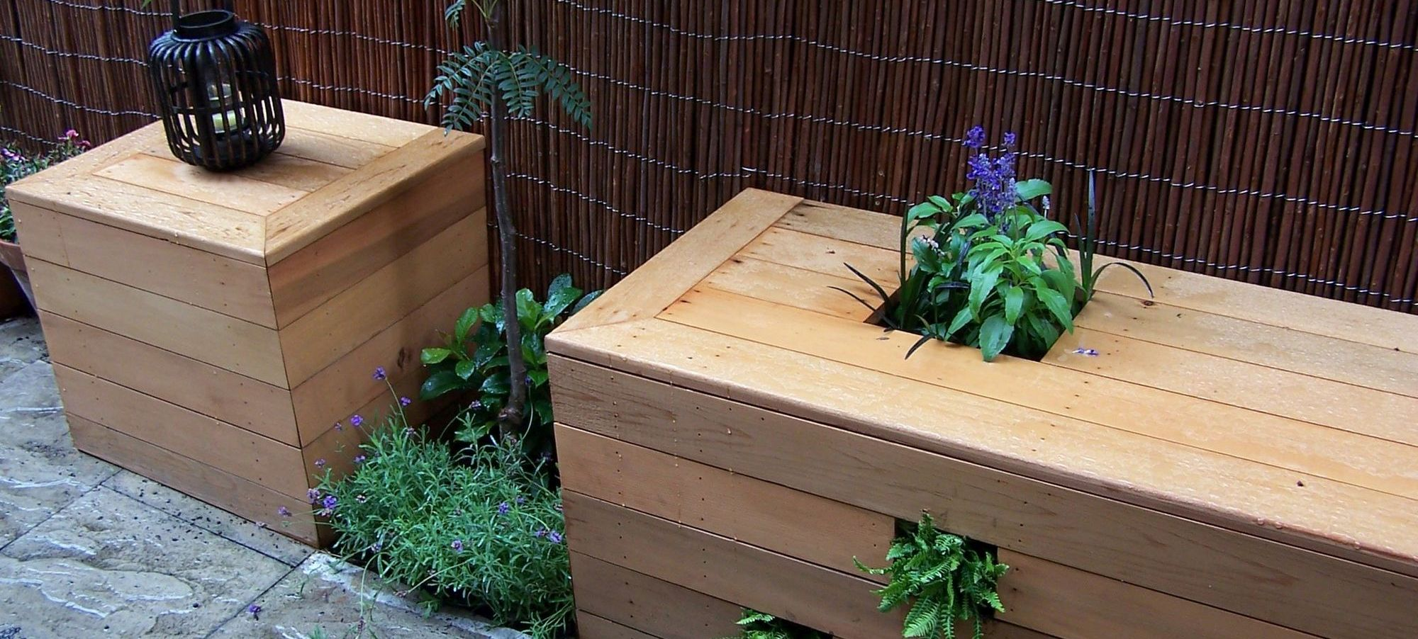 Bespoke seated planters