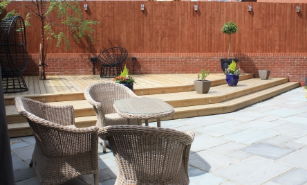Stevenage new build garden design