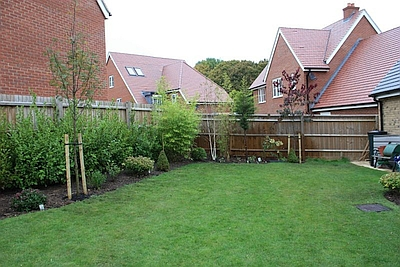 Stevenage garden border development