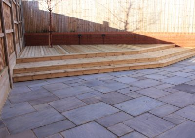 Bespoke patio and decking